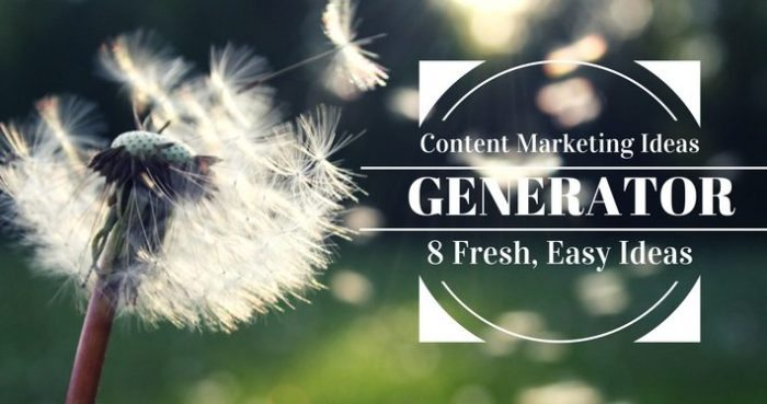content ideas generator - feature