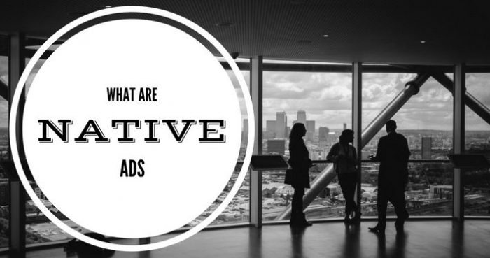 what are native ads feature