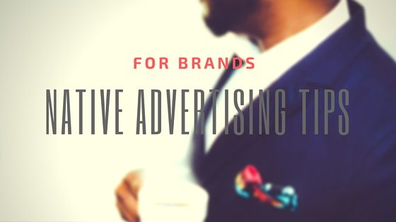 native advertising tips brands title