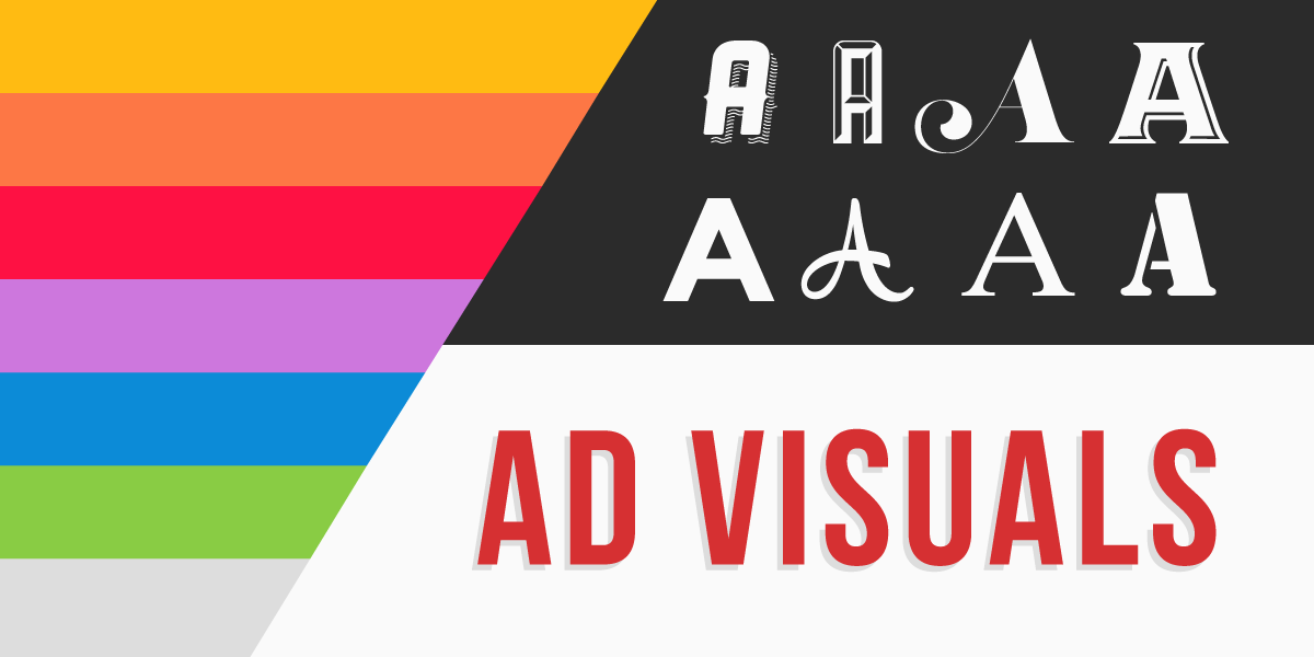 ad visuals, visuals in advertising, visual advertising